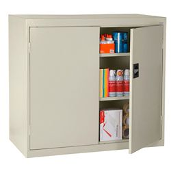 """Counter Height Storage Cabinet - 36""""W x 18""""D x 42""""H"""