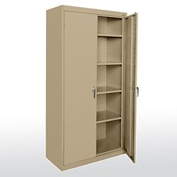 "Heavy Duty Supply Cabinet - 36""W x 18""D x 72""H"