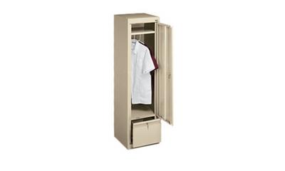 Slim Wardrobe Cabinet and File Drawer