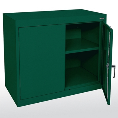 """Desk Height Steel Storage Cabinet- 36""""W"""
