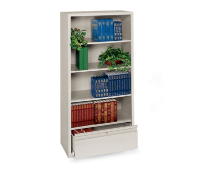 File Bookcase with Four Shelves