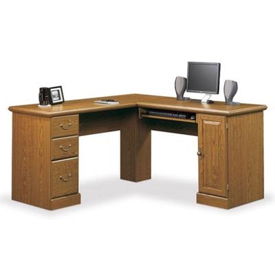 """Compact Computer L-Desk - 59.5""""W"""