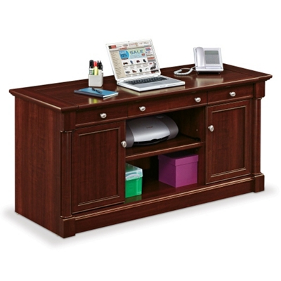 Credenza With Pull Out Worksurface, 13440