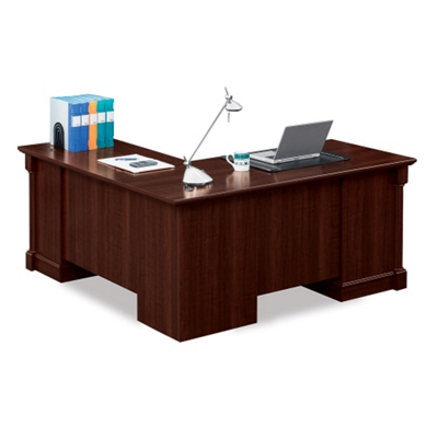 Nice Palladia L Shaped Desk With Right Return, 13447