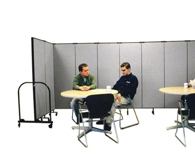 "7' 4"" High Room Dividers Set Of 9"