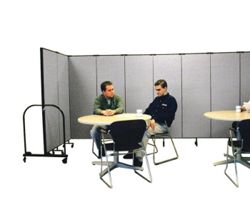 "6' 8"" High Room Dividers Set Of 9"