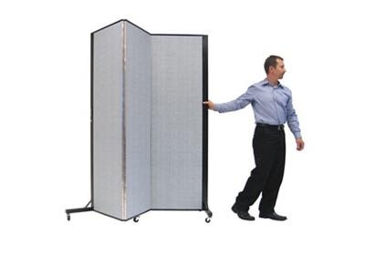 "Portable Room Divider - 5'9""L x 6'5""H"