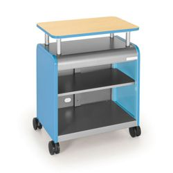 Presentation Cart with Riser
