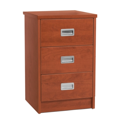 "19"" Wide Behavioral Health Three-Drawer Bedside Cabinet"