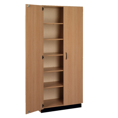 Double Door Laminate Storage Cabinet with Lock