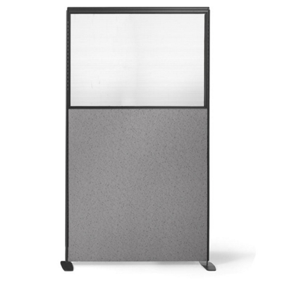 "66""H x 36""W Freestanding Panel with Plexiglass Insert"