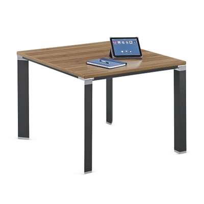 """Empire Square Conference Table with Triangular Legs - 39""""W"""