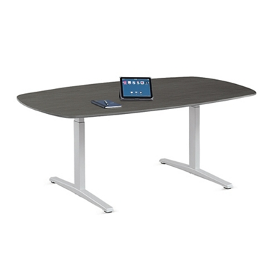 Plus T-Leg Conference Table - 6.5'W
