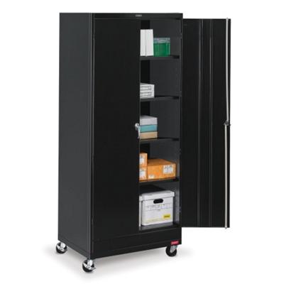"36""W x 18""D x 85""H Mobile Storage Cabinet"
