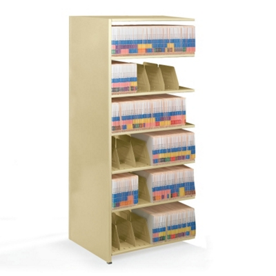 "48""W x 24""D Add-On Double Entry Open Shelving Unit"
