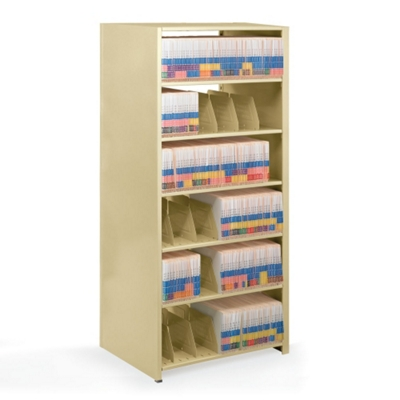 "Double-Entry Open Shelving Starter Unit 48""W x 24""D"