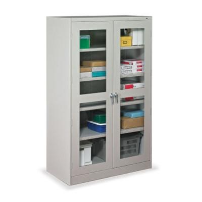 "48""W x 18""D x 78""H Jumbo See-Thru Storage Cabinet"