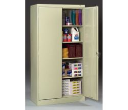 Five Shelf Storage Cabinet
