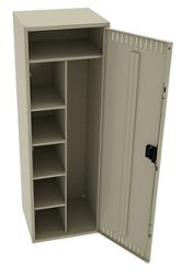 "Antimicrobial Combination Locker - 24""W"