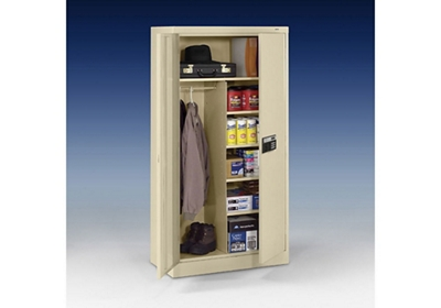 "Keypad Lock Storage and Wardrobe Cabinet - 72"" H"