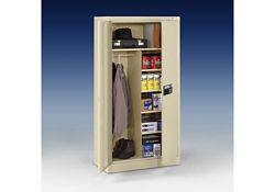 "Keypad Lock Storage and Wardrobe Cabinet - 72"" H"