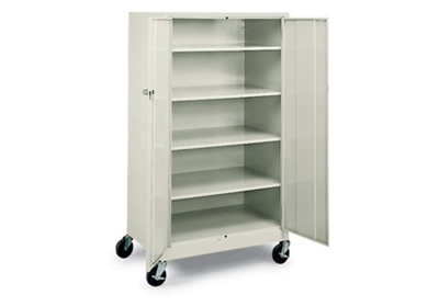 "Mobile 5 Shelf Storage Cabinet - 36""W"