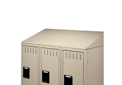 Slope Top for 3 Wide Lockers