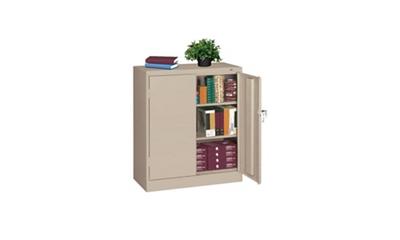 "Storage Cabinet Heavy Duty 42"" High x 24"" Deep"