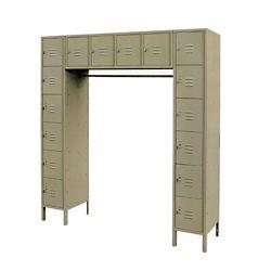 """Sixteen Locker Set - 69""""W x 18""""D x 78""""H"""