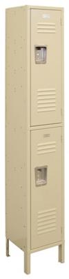 """Two-Tier Locker - 15""""W x 18""""D x 78""""H"""