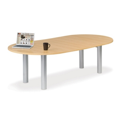 10' W Racetrack Conference Table