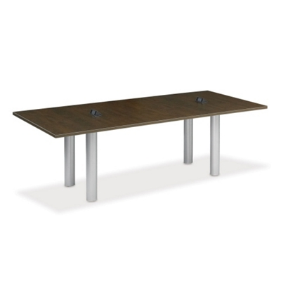 10' W Conference Table with Data Ports