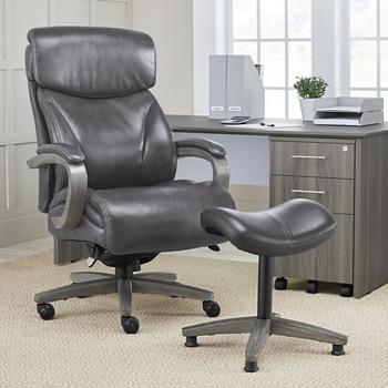 black la executive com boy leather z amazon office big tall dp chair bonded