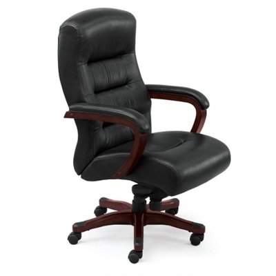 Vista Collection Faux Leather Executive Chair