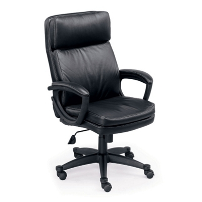 sterling collection faux leather highback chair