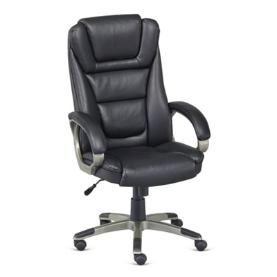 montana faux leather high back executive chair 50857 and more rh nationalbusinessfurniture com Big and Tall Executive Chairs Executive Leather Desk Chairs