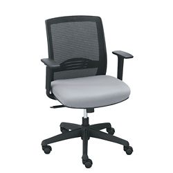 C2 Collection Petite Mesh Chair with Memory Foam