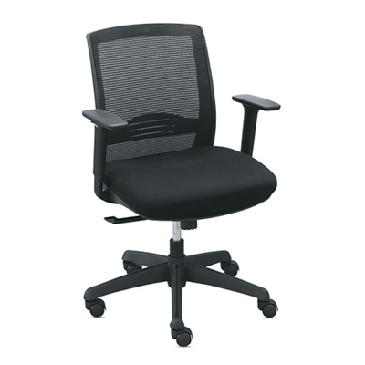 Set of 8 C2 Mesh Back Chairs with Memory Foam