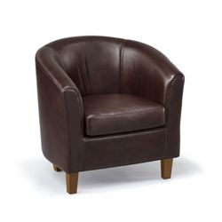 Chicago Faux Leather Club Chair