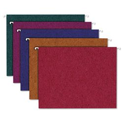 20 Recycled Letter Size Hanging File Folders