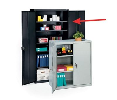 """Steel Storage Cabinet - 72""""H"""