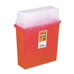 Sharps Medical Receptacle - 5 Quart Capacity