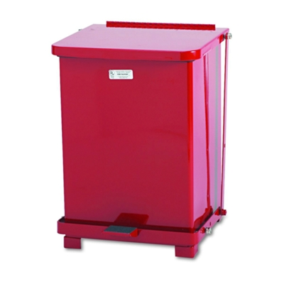 Step-On Medical Biohazard  Waste Receptacle - 7 Gallon Capacity