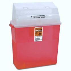 Sharps Medical Receptacle - 3 Gallon Capacity