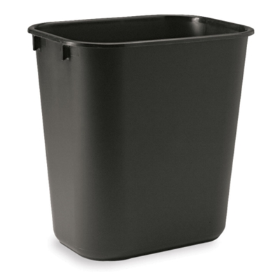 Plastic Wastebasket (3.5 Gallons)