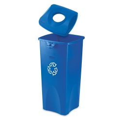 23-Gallon Recycling Receptacle with Can Lid