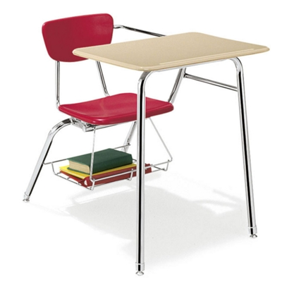 Hard Plastic Chair Desk