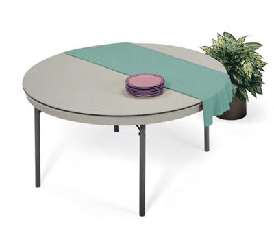 "Lightweight Round Folding Table - 72"" Diameter"