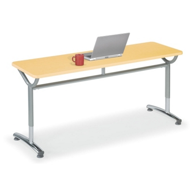 "Adjustable-Height Training Table 48""W x 24""D"