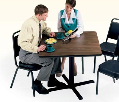 "Breakroom Table - 36"" Square"